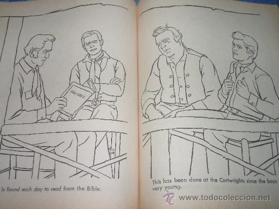 bonanza. libro para colorear de 1962 . con cubi - Comprar en ...