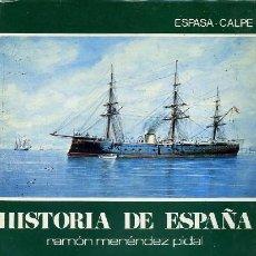 Libros de segunda mano: Hª ESPAÑA, TOMO XXXIV. LA ERA ISABELINA Y EL SEXENIO DEMOCRATICO, 1834-1874. MENÉNDEZ PIDAL, R.. Lote 156121642