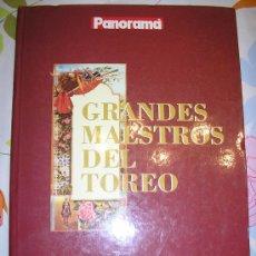 Libros de segunda mano: GRANDES MAESTROS DEL TOREO POR VICENTE ZABALA. Lote 27359877