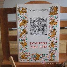 Libros de segunda mano: POEMA DEL CID- VERSIÓN MÉTRICA Y PRÓLOGO DE FRANCISCO LÓPEZ ESTRADA. Lote 25698256