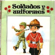 Libros de segunda mano: CUADERNO PARA PINTAR. COLECCIÓN GIGANTE INFANTIL Nº 14. SOLDADOS Y UNIFORMES. GRAN FORMATO.. Lote 25324542
