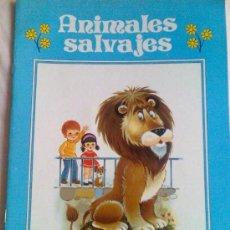 Libros de segunda mano: CUADERNO PARA PINTAR. COLECCIÓN GIGANTE INFANTIL Nº 6. ANIMALES SALVAJES. GRAN FORMATO.. Lote 26029361