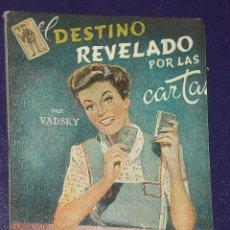 Libros de segunda mano: EL DESTINO REVELADO POR LAS CARTAS.. Lote 146728673