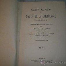 Libros de segunda mano: 00020- CARTAS A ALFONSO XIII, JOSÉ MUÑIZ Y TERRONES, MADRID, FORTANET, 1893. Lote 18815197