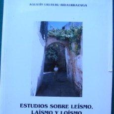 Libros de segunda mano: ESTUDIOS SOBRE LEÍSMO, LAÍSMO Y LOÍSMO. - 1993. Lote 27594128