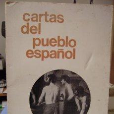 Libros de segunda mano: CARTAS DEL PUEBLO ESPAÑOL. Lote 26636605