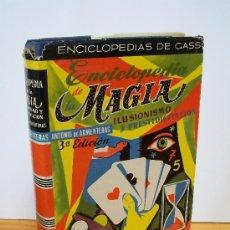 Libros de segunda mano - ENCICLOPEDIA de LA MAGIA, por Antonio de Armenteras,1957 - 19004209