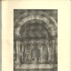 Libros de segunda mano: SANTA MARIA DE PORQUERAS IGLESIA ROMANICA SIGLO XII 1965 TOMAS FRIGOLA PBRO. Lote 19027230