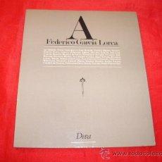 Libros de segunda mano: FEDERICO GARCIA LORCA. IAN GIBSON. ANGEL SAHUQUILLO. RICARDO LABRA. LIBRO HOMENAJE. POESIA. Lote 23240633