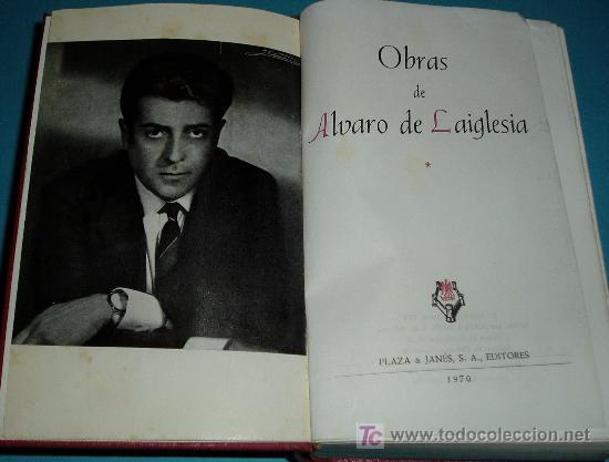 OBRAS DE ALVARO DE LAIGLESIA. PRIMER VOLUNEN. COLECCIÓN MAESTROS DEL HUMOR (Libros de Segunda Mano (posteriores a 1936) - Literatura - Otros)