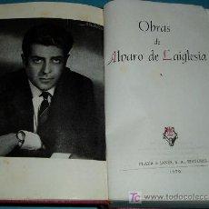 Libros de segunda mano: OBRAS DE ALVARO DE LAIGLESIA. PRIMER VOLUNEN. COLECCIÓN MAESTROS DEL HUMOR. Lote 24214075