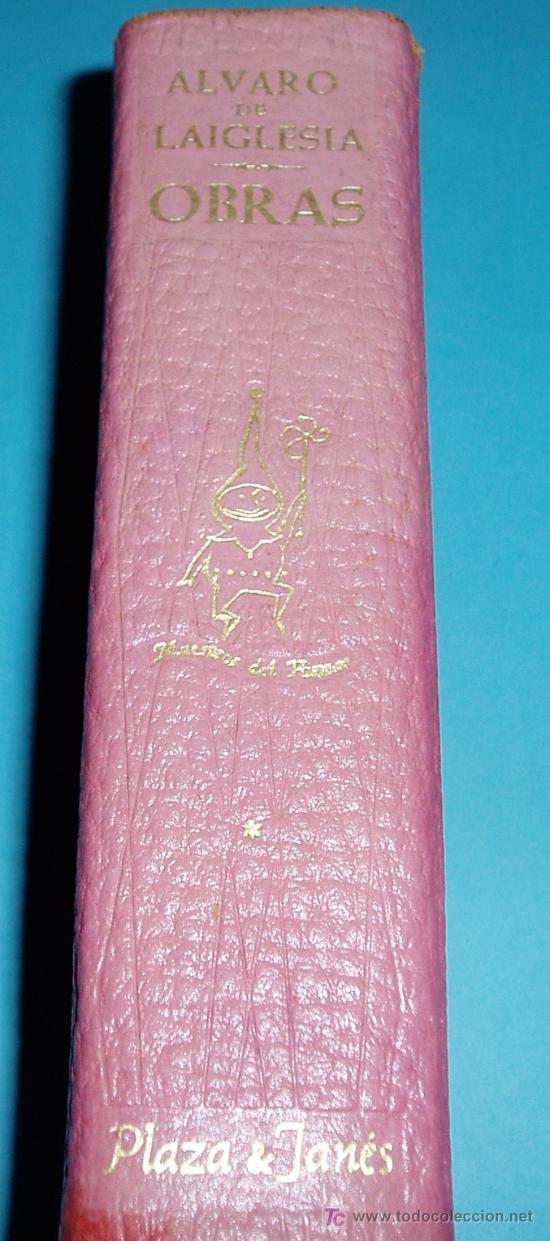 Libros de segunda mano: OBRAS DE ALVARO DE LAIGLESIA. PRIMER VOLUNEN. COLECCIÓN MAESTROS DEL HUMOR - Foto 4 - 24214075