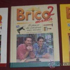 Libros de segunda mano: TRES TOMOS DE BRICOMANÍA (1-2-4) POR DEBATE Y CÍRCULO DE LECTORES EN BARCELONA 1998. Lote 25349548
