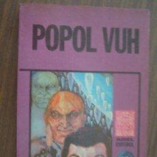 Libros de segunda mano: POPOL VUH. 1975. ARIEL. Lote 19133085