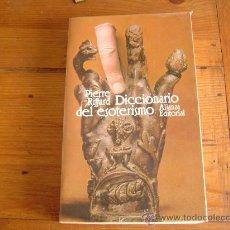 Libros de segunda mano: DICCIONARIO DEL ESOTERISMO.. Lote 19174997