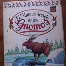 Libros de segunda mano: EL MUNDO SECRETO DE LOS GNOMOS, TOMO 2, PLAZA JOVEN, 1988. Lote 19256234