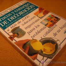 Libros de segunda mano: EL GRAN LIBRO DE LOS TRUCOS Y CONSEJOS DE DECORACION -LIBROS CUPULA EDIT-CEAC-1998. Lote 19275964