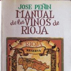 Libros de segunda mano - Manual de los vinos de Rioja - 26949951