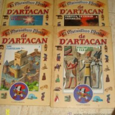 Libros de segunda mano: 4 TOMOS - EL MARAVILLOSO MUNDO DE DARTACAN (Nº 1-2-3-6) - 1991. Lote 25519692