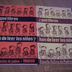 Libros de segunda mano: 2 LIBROS ¿QUÉ LIBROS HAN DE LEER LOS NIÑOS?. Lote 31411561