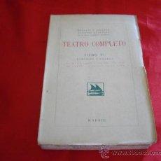 Libros de segunda mano: LA ZAGALA. AMOR A OSCURAS. LA CASA DE GARCIA. A LA LUZ DE LA LUNA. HERMANOS ALVAREZ QUINTERO. TEATRO. Lote 23642350