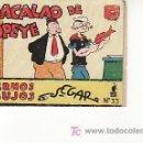 Libros de segunda mano: EL BACALAO DE POPEYE.CUADERNOS DE DIBUJOS.SEGAR.Nº 33.DICIEMBRE 1938. Lote 25617699
