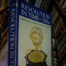 Libros de segunda mano: REVOLUTION IN TIME CLOCKS AND THE MAKING OF THE MODERN WORLD DAVID LANDES 1983 RM44813. Lote 20800438