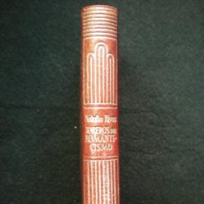 Libros de segunda mano: LIBRO. CRISOL DE AGUILAR. Nº 193. TOREROS DEL ROMANTICISMO. ANECDOTARIO TAURINO. 1947. . Lote 19782484