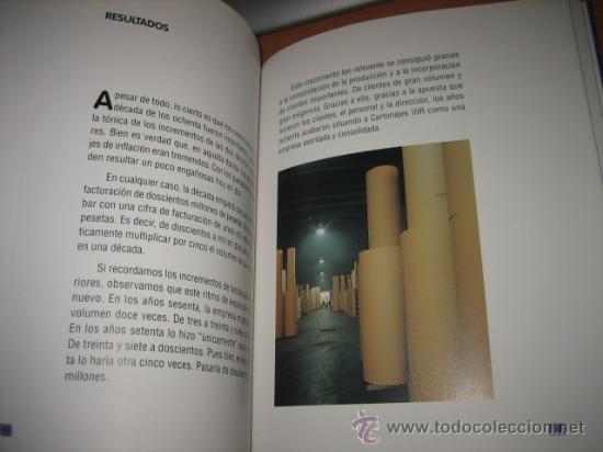 Libros de segunda mano: HISTORIA DE VIR .75 AÑOS DE UNA EMPRESA FAMILIAR ASTURIANA POR INACIU IGLESIAS. 2007 - Foto 3 - 27505052