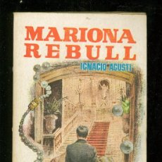 Libros de segunda mano: MARIONA REBULL. IGNACIO AGUSTI. PLAZA.. Lote 20069850