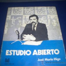 Libros de segunda mano: ESTUDIO ABIERTO JASE MARIA IÑIGO. Lote 27604569
