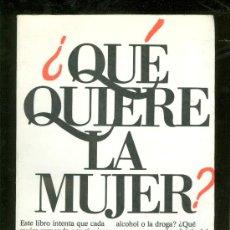 Libros de segunda mano: ¿QUE QUIERE LA MUJER?. LUCY FREEMAN. COLECCION LIBRE. EDICIONES JUAN GRANICA. 1981.. Lote 24363419