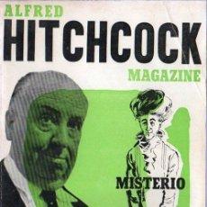 Libros de segunda mano: ALFRED HITCHCOCK MAGAZINE. Nº 5. MISTERIO EMOCION SUSPENSE. 1964.. Lote 24099923