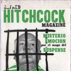 Libros de segunda mano: ALFRED HITCHCOCK MAGAZINE. Nº 12. MISTERIO EMOCION SUSPENSE. 1964.. Lote 24099924