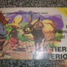 Libros de segunda mano: ENCICLOPEDIA MENSUAL DEL TOPO GIGIO, LIBRO DE EJERCICIOS Nº 5 - LA TIERRA MISTERIOSA - 1977. Lote 27078931