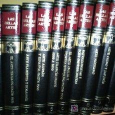 Libros de segunda mano: LAS BELLAS ARTES 10 TOMOS 1970 RM44465. Lote 26743653