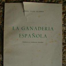 Libros de segunda mano: LA GANADERIA ESPAÑOLA 1960 50PGS . Lote 27280973