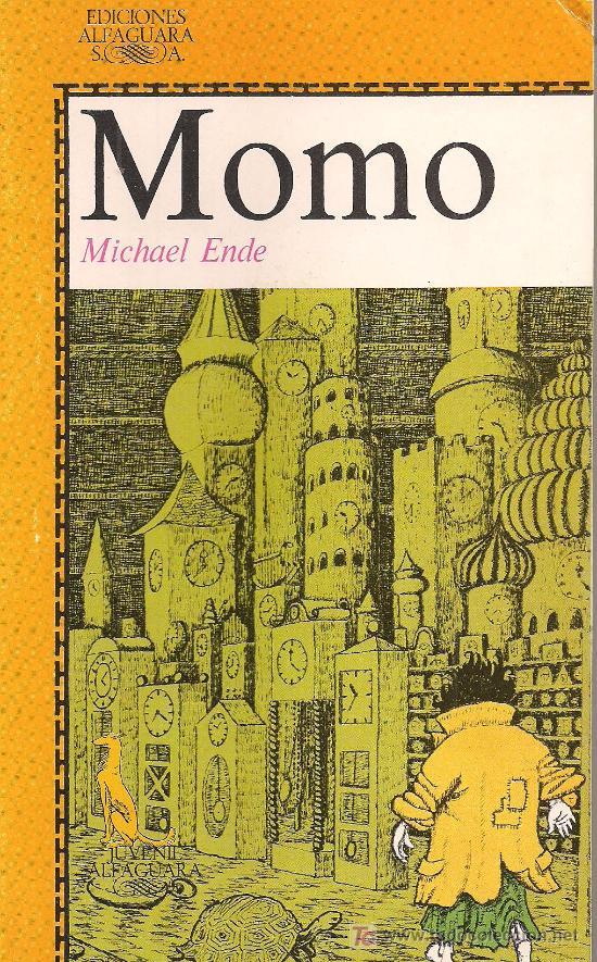 MICHAEL ENDE / MOMO. ALFAGUARA. ILUSTRADO. (Libros de Segunda Mano - Literatura Infantil y Juvenil - Otros)