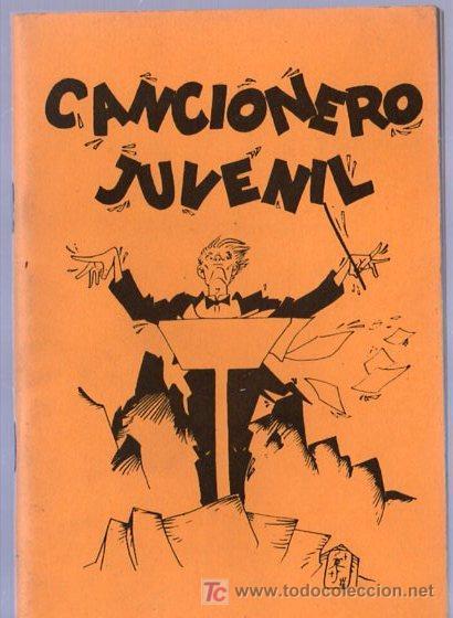 CANCIONERO JUVENIL. COLONIA DE VACACIONES. SIERRA DEL BREZO. 15 X 10 CM. 60 PAGINAS. (Libros de Segunda Mano - Literatura Infantil y Juvenil - Otros)