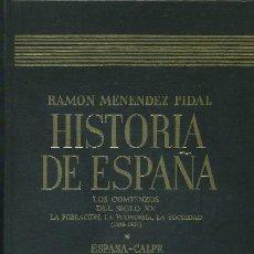 Libros de segunda mano: HISTORIA DE ESPAÑA XXXVII -LOS COMIENZOS DEL SIGLO XX. (A-HE-374). Lote 20591181