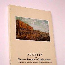 """Libros de segunda mano: BOLETÍN DEL MUSEO E INSTITUTO """"CAMÓN AZNAR"""", Nº XXX. VER SUMARIO. ARAGÓN. ARTE. HUMANIDADES.. Lote 25596593"""