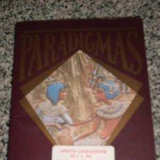 Libros de segunda mano: PARADIGMAS - MITOS, ENIGMAS Y LEYENDAS CONTEMPORANEAS - NUEVA LENTE - ESPAÑA - 1987. Lote 20800021