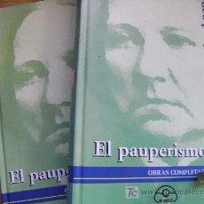 Libros de segunda mano: CONCEPCIÓN ARENAL, EL PAUPERISMO, (DOS TOMOS). Lote 26694374