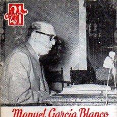 Libros de segunda mano: MANUEL GARCÍA BLANCO. LA LENGUA ESPAÑOLA EN LA ÉPOCA DE CARLOS V. MADRID. 1967.. Lote 26859998