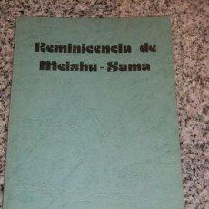 Libros de segunda mano: REMINISCENCIA DE MEISHU-SAMA - EDICION EN CASTELLANO - RARO! UNICO!!. Lote 26651133