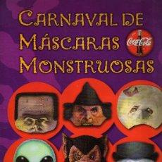 Libros de segunda mano: CARNAVAL DE MÁSCARAS MONSTRUOSAS - EDICIONES SM, 2002.. Lote 21368488