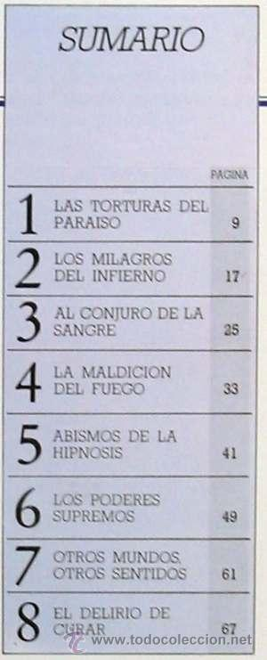 Libros de segunda mano: MAGIA: LOS PODERES SECRETOS - ENCICLOPEDIA DE OCULTIMO LAS CIENCIAS PROHIBIDAS - 1987 - Foto 2 - 26559206