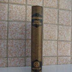 Libros de segunda mano: GABRIEL Y GALAN O.COMPLETAS AGUILAR COLECCION JOYAS.3° EDICIÓN.. Lote 26816982