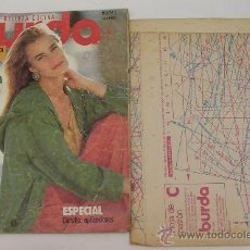 Libros de segunda mano: BURDA MODA - BELLEZA - COCINA - ABRIL DE 1991 - VER DETALLES. Lote 21590324