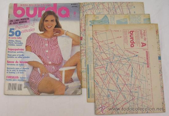 BURDA MODA - BELLEZA - COCINA - JUNIO DE 1991 - VER DETALLES (Libros de Segunda Mano - Ciencias, Manuales y Oficios - Otros)